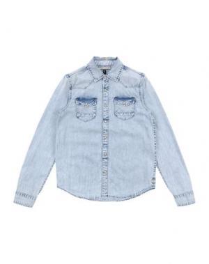Джинсовая рубашка SCOTCH & SHRUNK. Цвет: синий