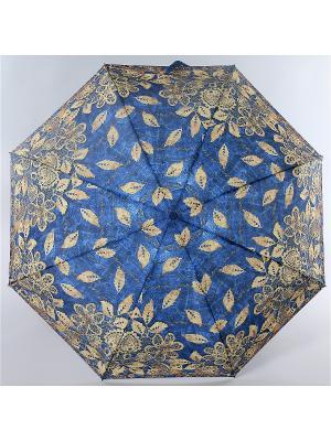 Зонт Zest. Цвет: серо-голубой,темно-бежевый