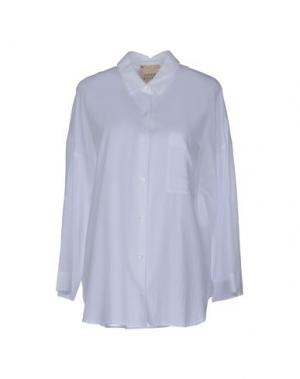 Pубашка GARAGE NOUVEAU. Цвет: белый