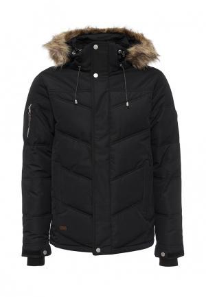 Куртка утепленная FIVE seasons. Цвет: черный