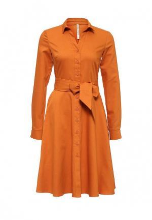 Платье Olga Grinyuk. Цвет: оранжевый