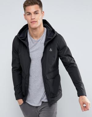 Jack & Jones Куртка-дождевик. Цвет: черный