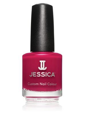 Лак для ногтей  #641 Sexy Siren, 14,8 мл JESSICA. Цвет: бордовый