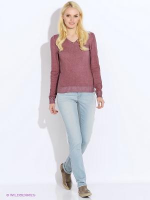 Пуловер Staff. Цвет: лиловый