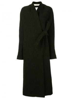 Пальто с запахом Cile Damir Doma. Цвет: чёрный