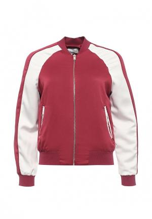 Куртка Piazza Italia. Цвет: бордовый