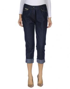 Джинсовые брюки SCHNEIDERS. Цвет: синий