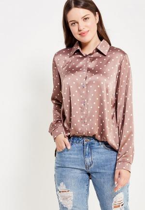 Блуза Sparada. Цвет: коричневый