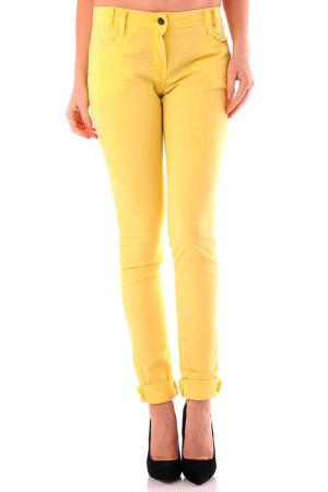 Брюки Cristina Gavioli. Цвет: yellow