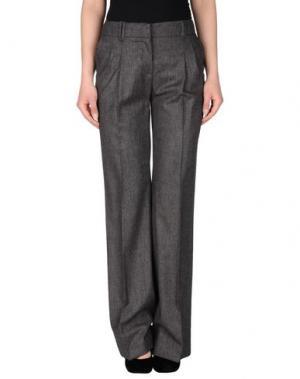 Повседневные брюки GATTINONI. Цвет: темно-коричневый