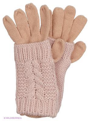 Перчатки Colin's. Цвет: розовый