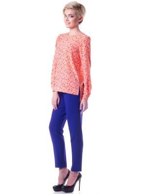 Блузка OKS by Oksana Demchenko. Цвет: оранжевый