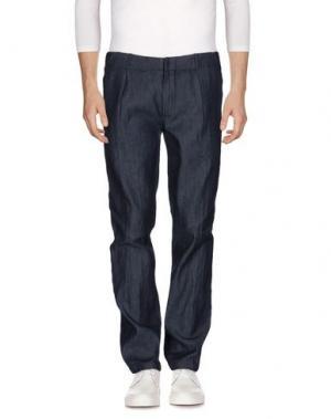 Джинсовые брюки DANIELE ALESSANDRINI HOMME. Цвет: синий