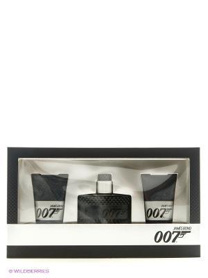 James Bond 007 Набор муж. (Туалетная вода 50 мл + Гель для душа 2х50 мл). Цвет: белый