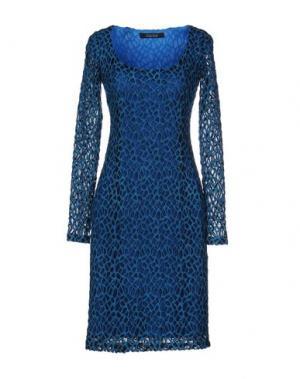 Платье до колена FISICO-CRISTINA FERRARI. Цвет: бирюзовый