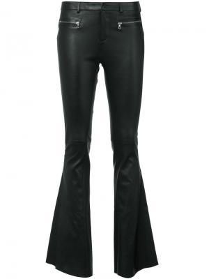 Расклешенные брюки Sylvie Schimmel. Цвет: чёрный