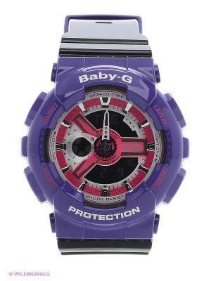 Часы Baby BA-110NC-6A CASIO. Цвет: фиолетовый