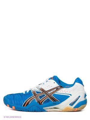 Кроссовки GEL-BLAST 5 ASICS. Цвет: оранжевый, белый, черный, синий