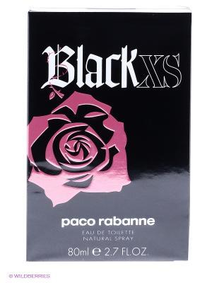 Paco Rabanne Black XS For Her Ж Товар Туалетная вода 80 мл. Цвет: прозрачный