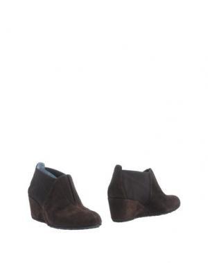 Ботинки THIERRY RABOTIN. Цвет: темно-коричневый