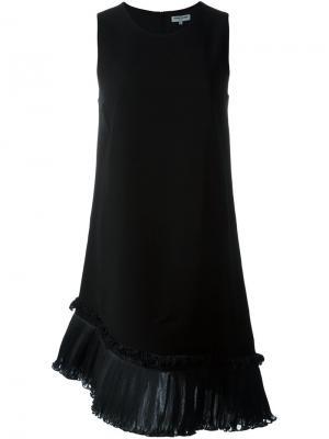 Платье асимметричного кроя Opening Ceremony. Цвет: чёрный