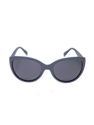 Солнцезащитные очки Mitya Veselkov. Цвет: серый