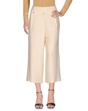 Повседневные брюки PAOLO CASALINI. Цвет: слоновая кость