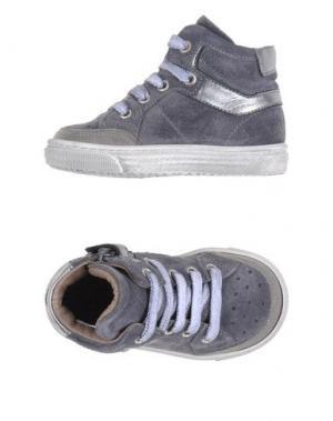 Низкие кеды и кроссовки GRANT GARÇON. Цвет: свинцово-серый