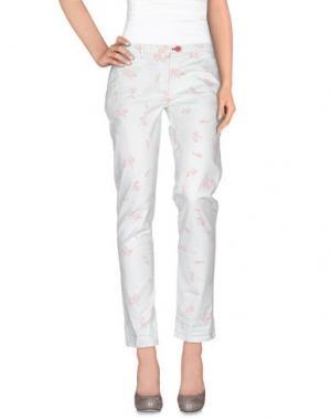 Повседневные брюки SUPERPANTS. Цвет: светло-зеленый