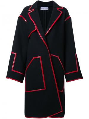 Пальто Renata Wanda Nylon. Цвет: чёрный