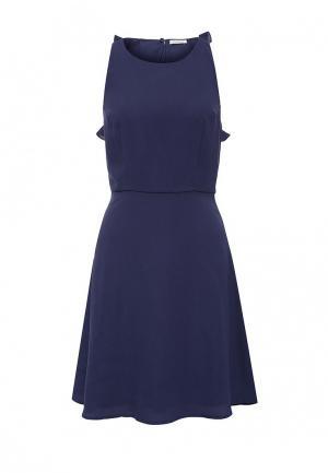 Платье Motivi. Цвет: синий