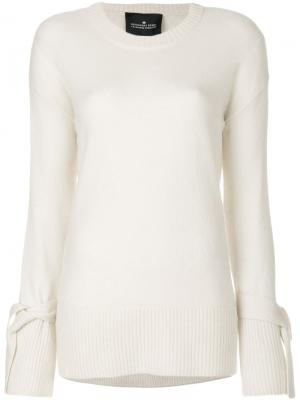 Sydni tie cuff sweater Designers Remix. Цвет: телесный