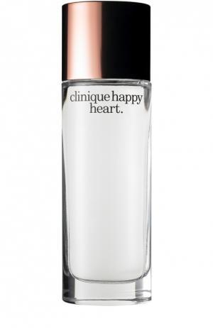Парфюмерная вода Happy Heart Clinique. Цвет: бесцветный