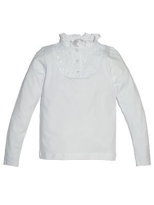 Блузка Let's Go. Цвет: белый