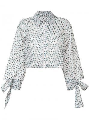 Рубашка  Gasha Harrington Jourden. Цвет: розовый и фиолетовый