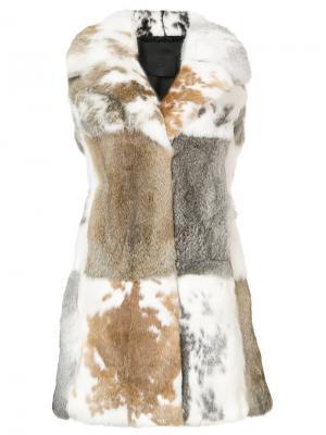 Mid-length vest Co. Цвет: серый
