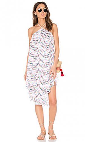 Платье-накидка cascada 6 SHORE ROAD. Цвет: белый