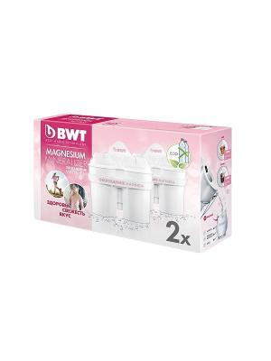 Комплект картриджей  BWT обогащение магнием х2шт. Цвет: белый