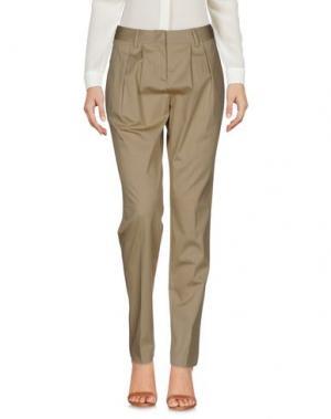 Повседневные брюки TONELLO. Цвет: бежевый