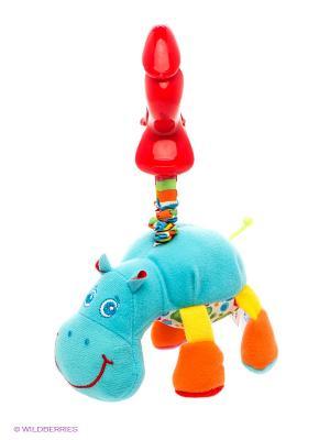 Развивающая игрушка Гиппопотам Гарри Tiny Love. Цвет: голубой