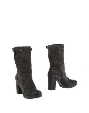 Полусапоги и высокие ботинки JANET SPORT. Цвет: стальной серый