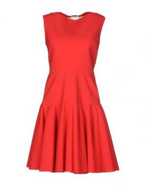 Короткое платье GRETA CONSTANTINE. Цвет: коралловый