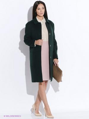 Пальто PAROLE by Victoria Andreyanova. Цвет: зеленый