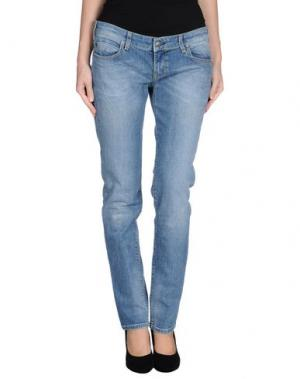 Джинсовые брюки ZU+ELEMENTS. Цвет: синий