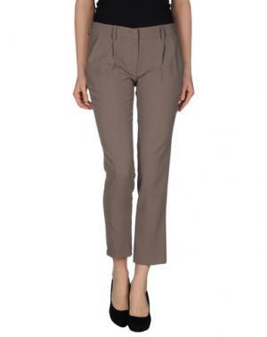 Повседневные брюки MILA SCHÖN CONCEPT. Цвет: серый