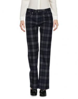 Повседневные брюки MAJE. Цвет: темно-синий