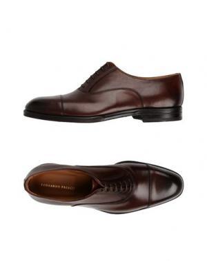 Обувь на шнурках LEONARDO PRINCIPI. Цвет: темно-коричневый