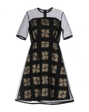 Короткое платье ORLA KIELY. Цвет: черный