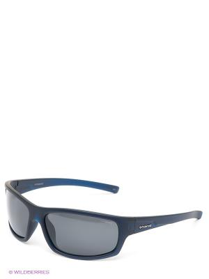 Солнцезащитные очки Polaroid. Цвет: темно-синий