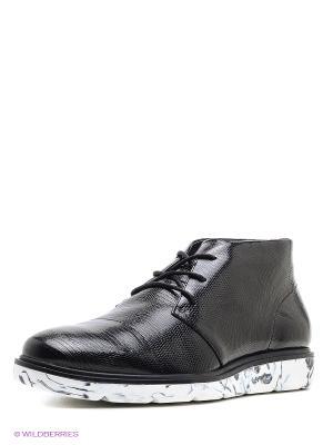 Ботинки UNITED NUDE. Цвет: черный